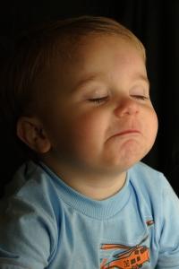 il bimbo piange